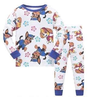 🚚 KOR144  Toddler Kids Pajamas PJs Sleepwear - Paw Patrol