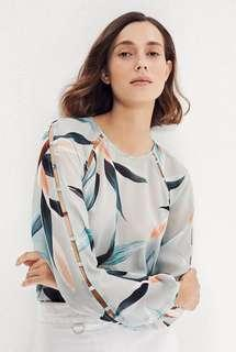 Country Road Tropical Blouse