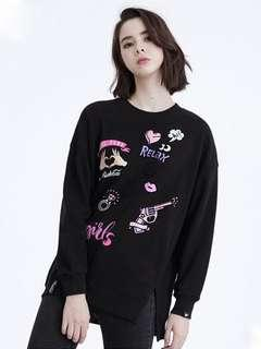 🚚 Stayreal Rockcoco pullover Sweater Black