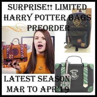 LIMITED HARRY POTTER PREORDER BAGS (MORE SLOTS OPEN ONLY UNTIL APRIL 8TH)