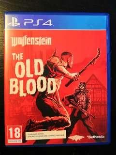 PS4 Used Game Wolfenstein The Old Blood