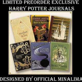 LIMITED PREORDER HARRY POTTER TEXTBOOKS DESIGN JOURNALS BY OFFICIAL MINALIMA