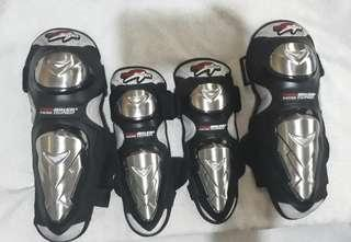 Safety knee and elbow pad