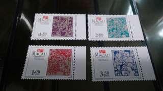 澳門贺年郵票