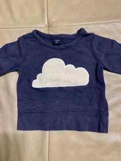 🚚 GAP雲朵上衣
