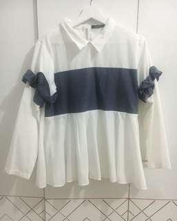 Blouse unik preloved shopataleen