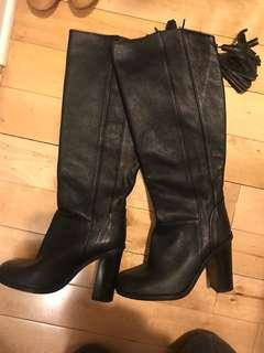 Zara knee-high boots