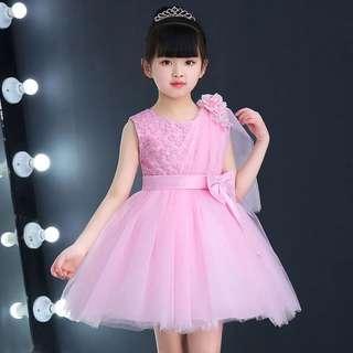 🚚 Princess Dress girl dress Flower Girl dress