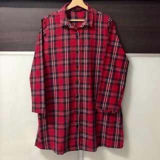 #50TXT Zara Trafaluc Checkered Shirt