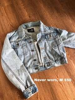 Cheap Monday cropped denim jacket