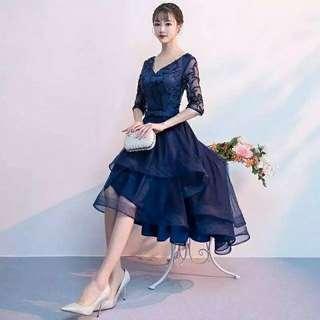 Madelyn high low dress-Wedding dress
