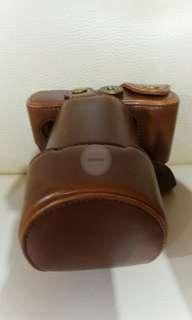 Fujifilm XA3 (Leather Full Case Coklat Tua)