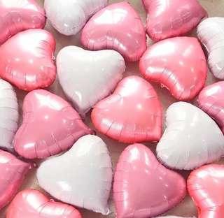 "18"" heart / star balloons 18吋心形/星形氣球"