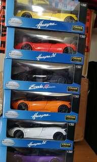 Petron collection of Pagani Sports Cars