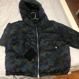 Zara bomber winter jacket