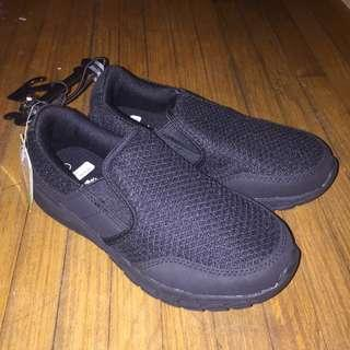 Kids Memory foam black shoes