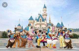 迪士尼門票及餐券 (電子票)