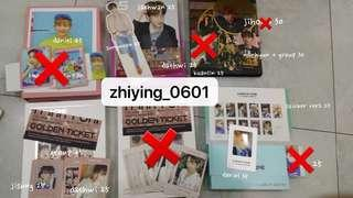 WANNA ONE Photocards [Official]