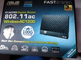 Asus RT-AC56S Dual-band Wireless-AC1200 Gigabit Router