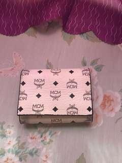 MCM tri-fold Small Wallet (repriced)