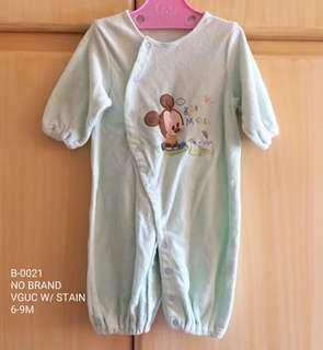 Baby Towel-Like Fabric Romper