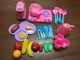 🚚 廚房家家酒玩具