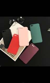 iphone 6+/6s+ Soft Case Silicone Matte Phone Cover