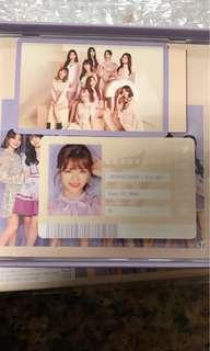 🚚 WTT #twice2 ID card Jeong yong