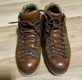 Visvim Serra Lt Brown Horween Leather