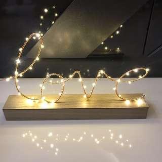 🚚 Love LED lights (Brand New)