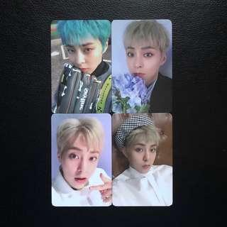 EXO Xiumin Blooming Day Photocard