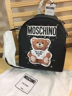 Moschino Backpack teddy bear 熊仔 背包