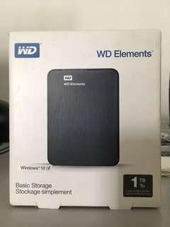 Western Digital (WD) Elements - 1TB