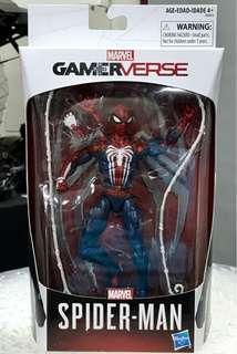 Exclusive Gamerverse Spider-Man PS4 Gamestop Marvel Legends Action Figure