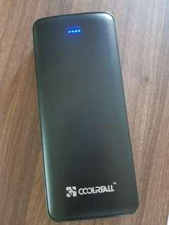 Power BANK COOLREALL 15600MAH CONDITION LIKE NEW