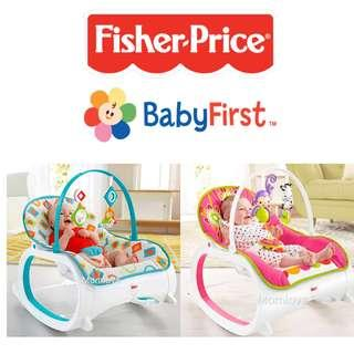 🚚 [AUTHENTIC]Ready Stock! Brand New Fisher-Price Infant-to-Toddler Rocker, Floral Confetti /Geo Diamonds(Perfect for Baby Shower Gift Newborn Rocker Cradle Swing Present)