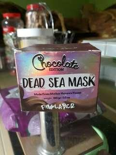pinklab. co dead sea mask chocolate edition