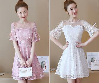 (M - 2XL) Ladies Dress #5028
