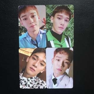 EXO Chen Blooming Day Photocard