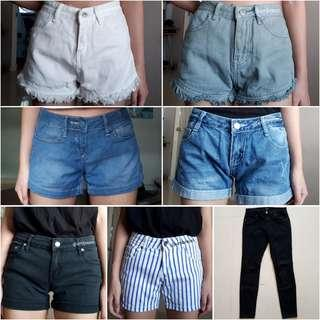 🚚 💫S's shorts & jeans | Refer to original listings.