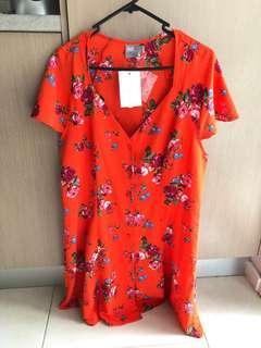 Asos Orange Dress