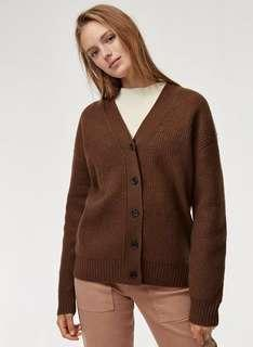 Aritzia wilfred free sweater cardigan