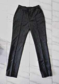 Medium Grey Highwaisted Work Pants