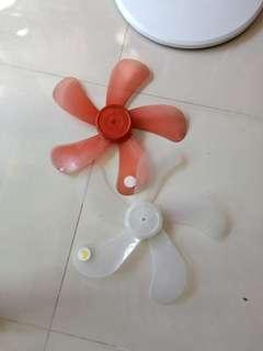 Fan blades $2 each