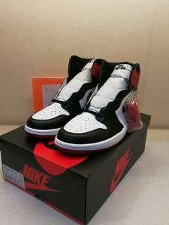 Nike Air Jordan 1 Retro OG Black toe 555088-125 (2016) US11 not Bred Off-White Game Royal