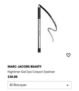 MARC JACOBS MINI HIGHLINER IN 42 BLACQUER