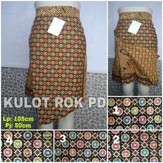 Kulot Batik Pendek