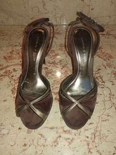 Charles and keith heels ( burgundy / maroon)