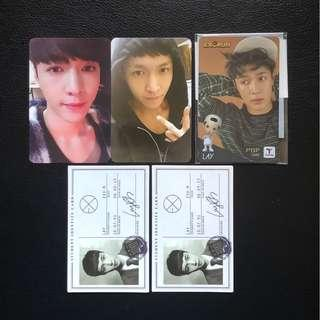 EXO Lay Official Photocard
