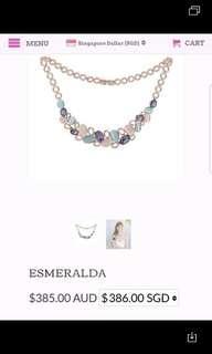 PICA LELA ESMERALDA 18K rose (ori $386)